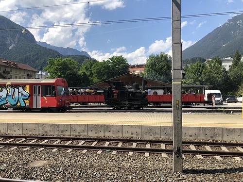 Bahnhof Jenbach mit Achenseebahn