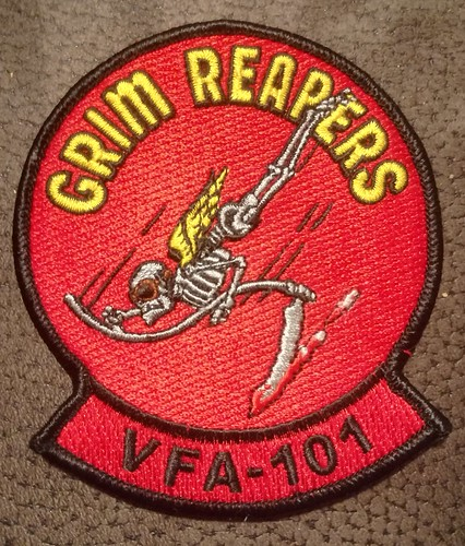 VFA-101 Grim Reapers. Received this as a gift from a very good friend.