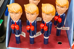 "Funny Donald Trump talking and boxing pens saying phrases like ""Never forget 7/11"" and ""My IQ is huge"" for sale in Chicago"