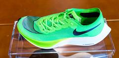 Der Nike ZoomX Vaporfly NEXT% Laufschuh in Electric Green: hohe Geschwindigkeit und leichtes Design