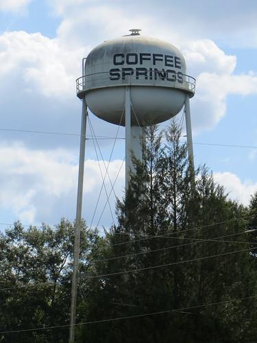 Water Tower Coffee Springs AL