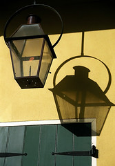 "New Orleans - French Quarter ""Lantern & Shadow"""