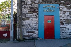 THE SEXTANT PUB AND THE BACK DOOR AS IT WAS IN 2018 [CLOSED IN 2019]--157267