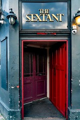 THE SEXTANT PUB AND THE BACK DOOR AS IT WAS IN JULY 2017 [CLOSED IN 2019]-157274