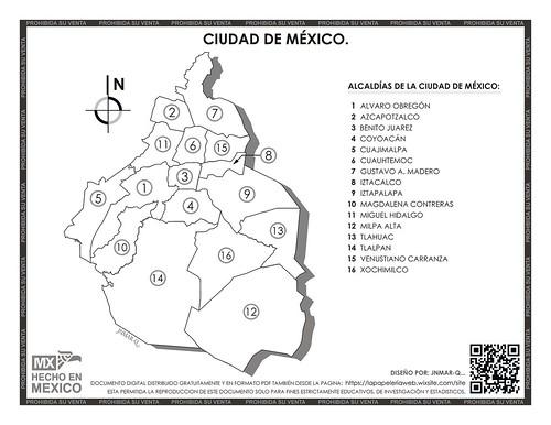 Mapa Ciudad de Mexico