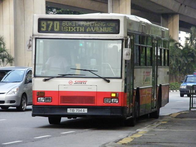 Mercedes-Benz O405 | Hispano | SMRT Buses | TIB 794 A