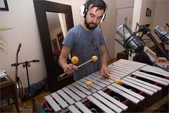 Percussionist, composer and producer Felipe Fournier