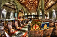 Sumptuous interior of St Nonna's Church