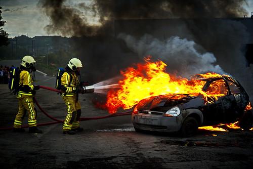 firefighter exercises