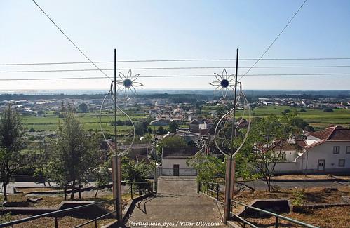 Escadaria da Capela de Nossa Senhora da Aflição - Casaldima - Portugal 🇵🇹