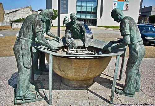 Monumento ao Chapeleiro - São João da Madeira - Portugal 🇵🇹