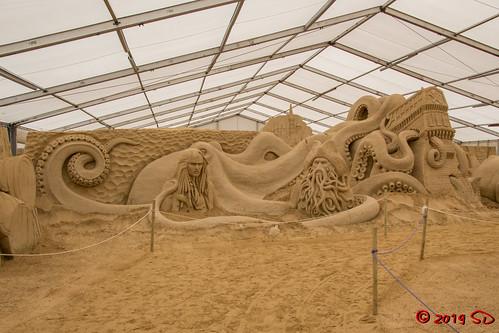 Sandskulpturen-Festival in Binz auf Rügen - Best of 10 Jahre