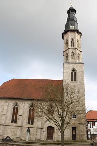 Mühlhausen/Thüringen: Allerheiligenkirche