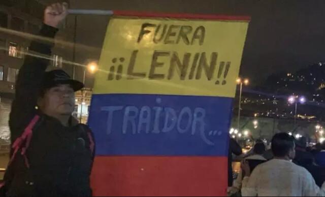Equador vive grandes protestos contra o governo de Lenín Moreno desde 3 de outubro - Créditos: Foto: Reprodução/Twitter/RonnyAleaga