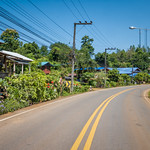 Thailand countryside road