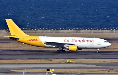 Air Hong Kong, B-LDD, Airbus A300F4-605R at NGO