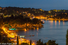 Cavtat by night