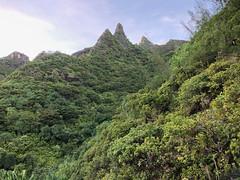 Sharp Mountain Peaks
