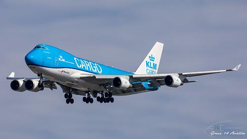 KLM B747F