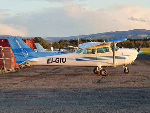 Remis Cessna 172 EI-GIU seen at Dublin Weston EIWT