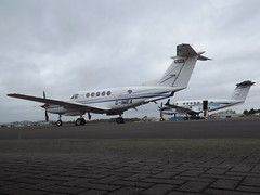 G-IMEA Beech Super King Air 200 (2 Excel Aviation Ltd) With G-REXA Beech Super King Air 200GT (RVL Aviation Ltd)