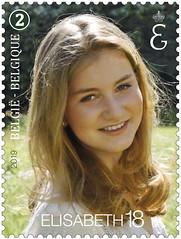 17 Princesse Elisabeth18 timbre