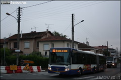 Irisbus Citélis 18 – Tisséo n°0862 - Photo of Sainte-Foy-d'Aigrefeuille