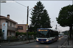 Irisbus Citélis 12 CNG – Tisséo n°1036 - Photo of Sainte-Foy-d'Aigrefeuille