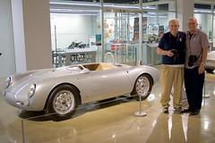 Bill III and Ian with Porsche 550 Spyder DSC_0670 (2)