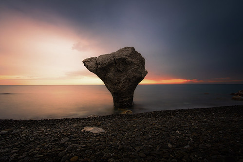 The rock anvil at dawn