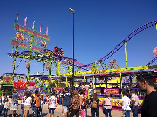 Atracciones en las ferias de Zaragoza