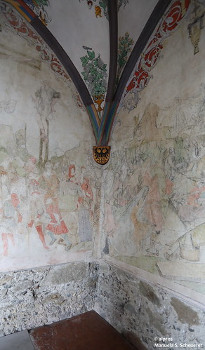 Restaurering pågår - Franziskanerkloster Schwaz