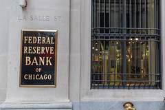 Federal Reserve Bank of Chicago on La Salle St.