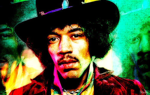 colors of Jimi...