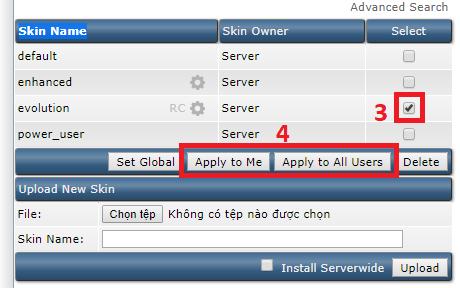 """Click vào cả 2 nút """"Apply to Me"""" và """"Apply to All Users"""""""