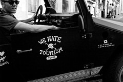 """""""We Hate Tourism Tours/ If you are reading this is because the driver sucks (2015)"""
