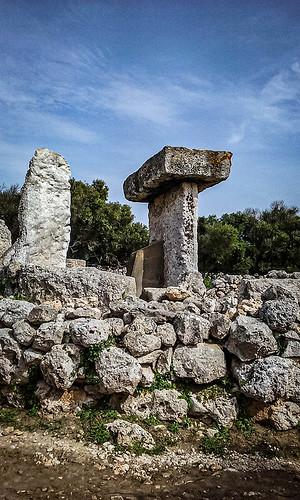 Poblado Talayotica de Oercuto  ( Menorca )