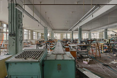 . one has to look out for engineers - they begin with sewing machines and end up with the atomic bomb