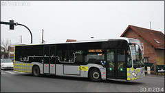 Mercedes-Benz Citaro C2 – Stivo (Société de Transport Interurbaine du Val d'Oise) / STIF (Syndicat des Transports d'Île-de-France) n°914 - Photo of Béthemont-la-Forêt
