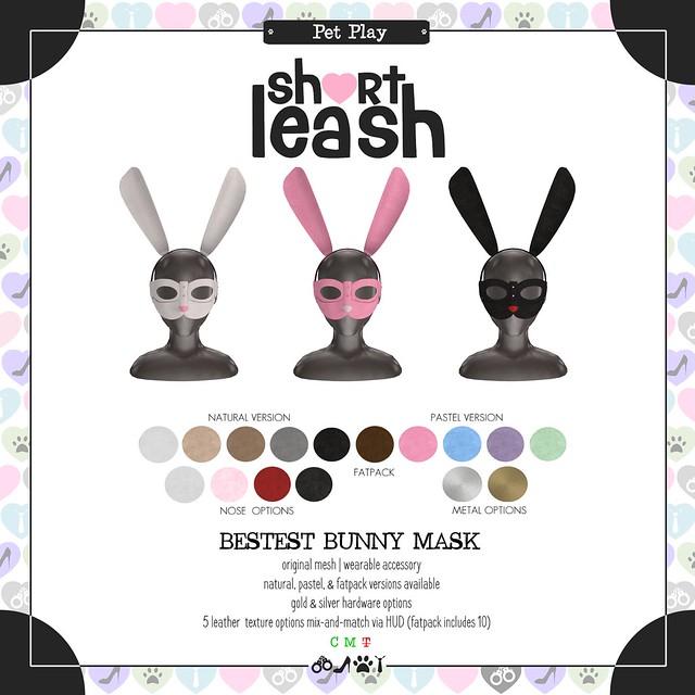 .:Short Leash:. Bestest Bunny Mask