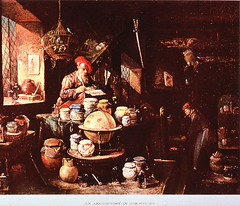 An Alchemist In His Study