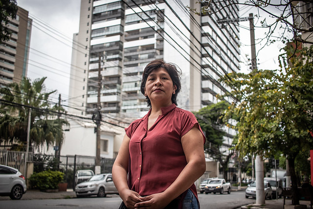 Nancy Salva is one of the 350,000 Bolivian women who live in Brazil - Créditos: José Eduardo Bernardes/Brasil de Fato