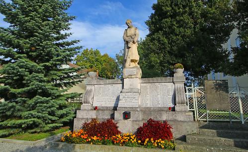Wilfleinsdorf. Kriegerdenkmal, 1923