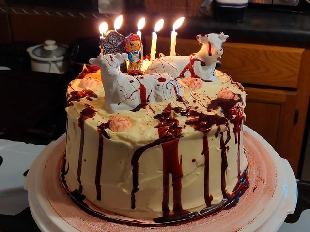 Dead Milkmen themed birthday cake!