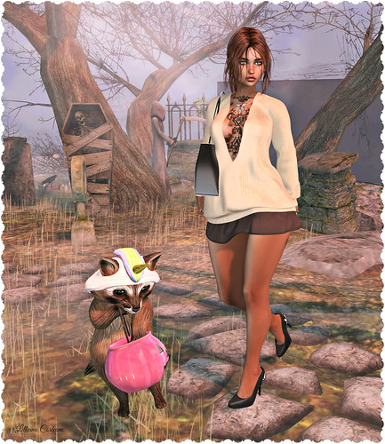 Designer Circle 20_19, Underdog Event, The Arcade, Designer Showcase, Driftwood Event, 7 Deadly s[K]ins, SWANK, and Dark Passion Events Trick or Treat Lane!