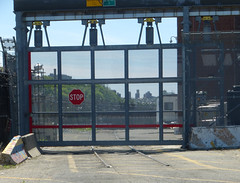 Track 65 (car delivery and interchange track), NYCT 207 Street Yard