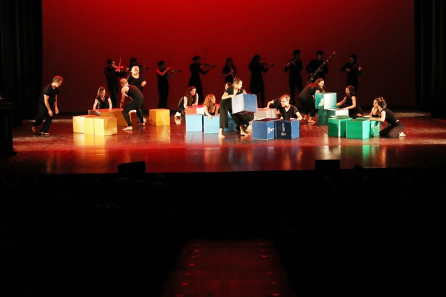 Actuación de las agrupaciones de la Universidad de León