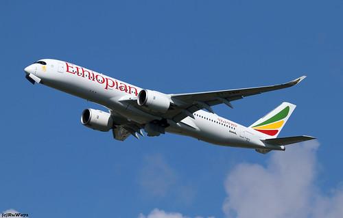 Ethiopian Airlines Airbus A350-941 F-WZFA (ET-AWN)