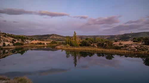 Río Tajo a su paso por Sayatón