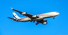 Kingdom of Eswatini (formerly Swaziland) Airbus A340-313 3DC-SDF